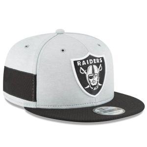 NFL レイダース キャップ/帽子 2018 サイドライン 9FIFTY アジャスタブル ニューエラ/New Era ホーム|selection-j