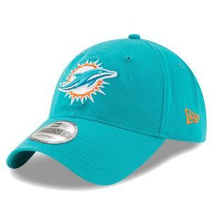 NFL ドルフィンズ キャップ/帽子 コア クラシック アジャスタブル ニューエラ/New Era アクア selection-j