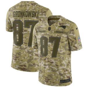 お取り寄せ NFL ペイトリオッツ ロブ・グロンコウスキー ユニフォーム/ジャージ サルート トゥ サービス リミテッド ナイキ/Nike カモ|selection-j