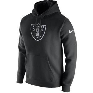NFL レイダース パーカー/フーディー プルオーバー フリース クラブ フーディ ナイキ/Nike ブラック|selection-j