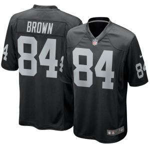 お取り寄せ NFL レイダース アントニオ・ブラウン ユニフォーム/ジャージ ゲーム ナイキ/Nike ホーム|selection-j