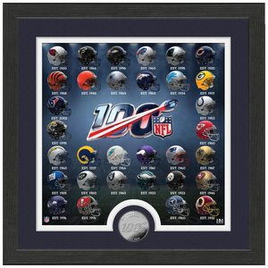 NFL 100周年記念 ヘルメットフォト コイン The Highland Mint|selection-j