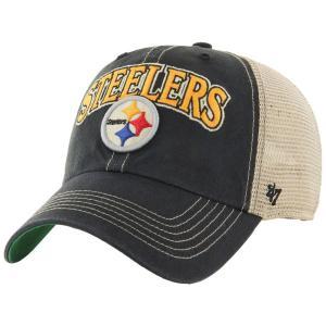 お取り寄せ NFL スティーラーズ キャップ/帽子 ヴィンテージ タルカルーサ アジャスタブル 47 Brand selection-j