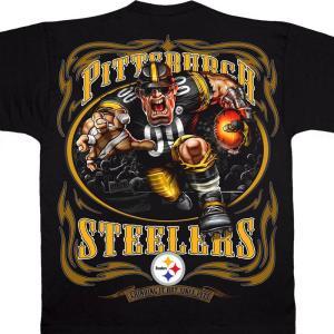 NFL スティーラーズ Tシャツ ランニング バック ブラック|selection-j