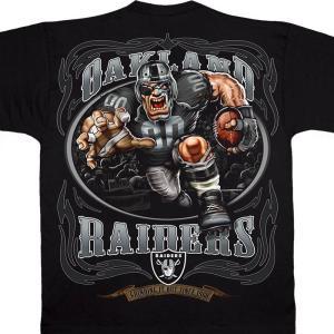 NFL レイダース Tシャツ ランニング バック ブラック|selection-j