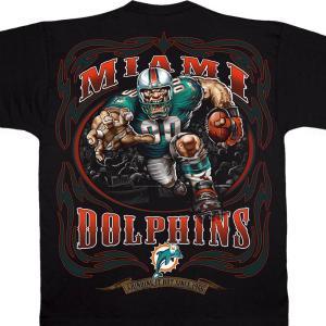 NFL ドルフィンズ Tシャツ ランニング バック ブラック|selection-j