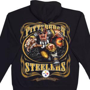 NFL ピッツバーグ・スティーラーズ パーカー/フーディー ランニングバック プルオーバー ブラック|selection-j