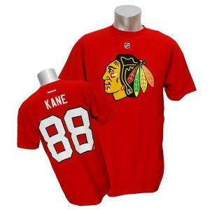 NHL ブラックホークス パトリック・ケイン Tシャツ レッド リーボック Name&Number Tシャツ selection-j
