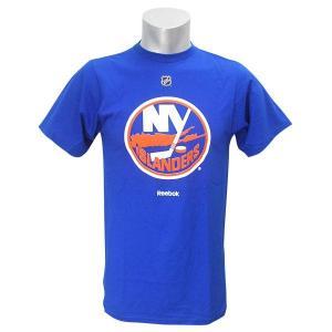 NHL アイランダース Tシャツ ブルー リーボック Primary Logo S/S Tシャツ selection-j
