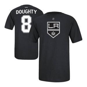 NHL キングス ドリュー・ダウティー Tシャツ ブラック リーボック Name&Number Tシャツ|selection-j