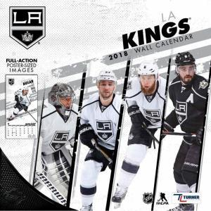 NHL キングス 2018 チーム ウォール カレンダー ターナー/Turner【セール】|selection-j