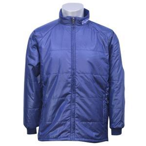 軽く柔らかで、着心地抜群な中綿入りジャケットです。 ネック部分のチーム名ロゴ刺繍がワンポイントとして...