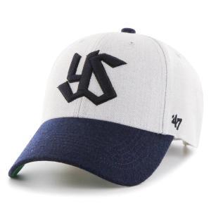 東京ヤクルトスワローズ グッズ キャップ/帽子 マンソン '47 MVP 47 Brand グレー|selection-j