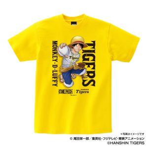 阪神タイガース グッズ Tシャツ ワンピース×タイガース Tシャツ (ルフィ) Space Age ...