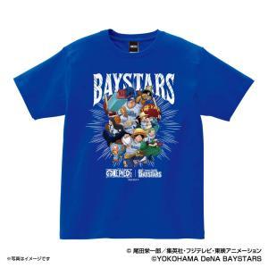 横浜DeNAベイスターズ グッズ Tシャツ ワンピース×ベイスターズ Tシャツ (麦わらの一味) S...