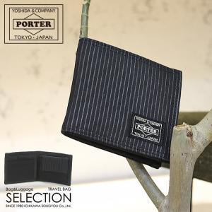 PORTER 吉田カバン ポーター ポータードローイング 財布 二つ折り財布 650-08615 メンズ レディース|selection