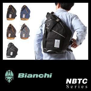 ビアンキ ボディバッグ メンズ レディース ワンショルダーバッグ 日本正規品 撥水性 ユニセックス A4ノート Bianchi NBTC-11|selection