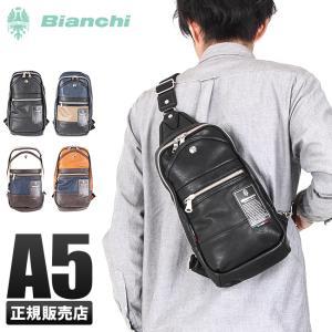 ビアンキ ボディバッグ ボディーバッグ 日本正規品 Bianchi TBPI-02 メンズ レディース|selection