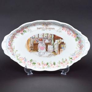 ジル・バークレムの人気絵本『のばらの村のものがたり』をテーマにした、ロイヤル・ドルトンのブランブリー...