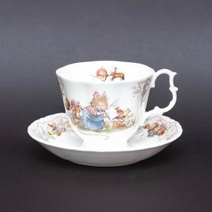 ロイヤル・ドルトン ブランブリーヘッジ バースデー ティーカップ&ソーサー|selectors