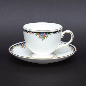 ウェッジウッド オズボーン オズボーン ティーカップ&ソーサー(リー)※小キズあり|selectors