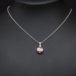 ウェッジウッド ジャスパー(ピンク) ハート ネックレス|selectors