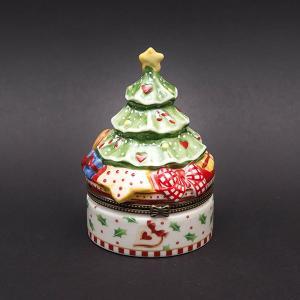 ビレロイ&ボッホ ウィンターベーカリーデコレーションクリスマスツリー型小物入れ|selectors