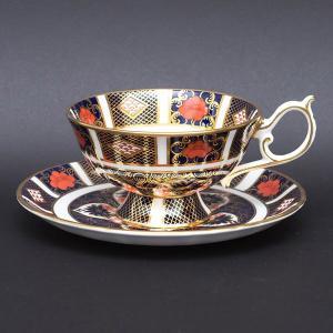 ロイヤル・クラウン・ダービー オールドイマリ ティーカップ&ソーサー(エリザベス) selectors