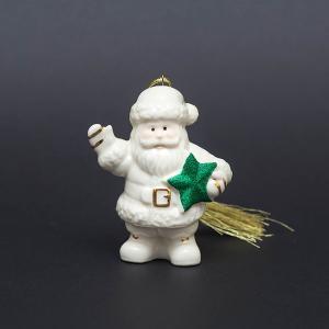 レノックス クリスマスオーナメント 『Santa's Starry Greetings』|selectors