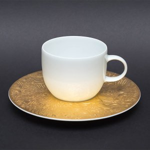 ローゼンタール 魔笛(ゴールド) コーヒーカップ&ソーサー|selectors