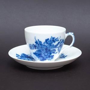 ロイヤル・コペンハーゲン ブルーフラワーカーブ コーヒーカップ&ソーサー|selectors