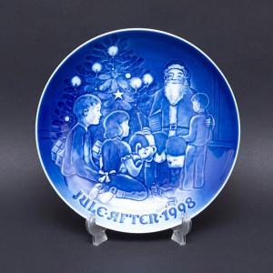 ビング・オー・グレンダール クリスマスプレート(1998年)『Santa the Story Teller』|selectors