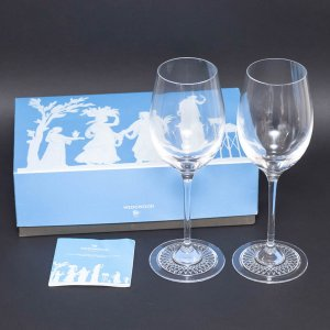 ウェッジウッド カロ ワイングラス(ペア) selectors