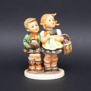 ゲーベル フンメル人形 『To Market(市場に)』※箱付 selectors