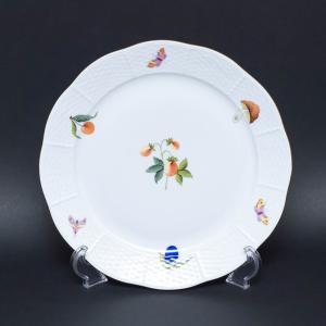 ヘレンド 果物・野菜・昆虫柄(ストロベリー) 25cmプレート|selectors
