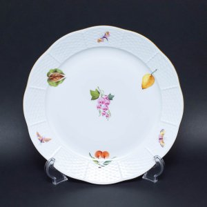 ヘレンド 果物・野菜・昆虫柄(グレープ) 25cmプレート|selectors