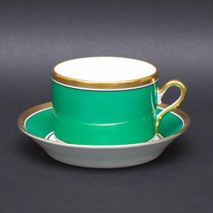 リチャード・ジノリ コンテッサ(グリーン) ティーカップ&ソーサー|selectors