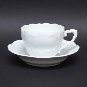 リンドナー プレインホワイト コーヒーカップ&ソーサー|selectors