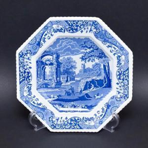 スポード ブルーイタリアン オクタゴナルプレート(開窯250周年記念)|selectors