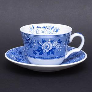 スポード ブルールームコレクション(ボタニカル) ティーカップ&ソーサー|selectors