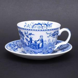 スポード ブルールームコレクション(ガール・アット・ウェル) ティーカップ&ソーサー|selectors