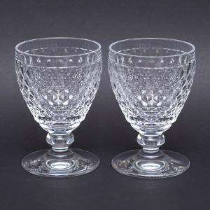 ビレロイ&ボッホ ボストン ワイングラス(クリア)ペア|selectors