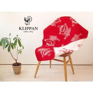 KLIPPAN (クリッパン) ミイひざかけ レッド