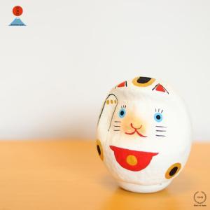 中川政七商店 <日本市> 招き猫だるま (高崎だるま 真下輝永)
