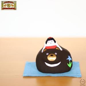 中川政七商店 張子飾り 熊と金太郎