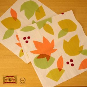 秋 てぬぐい 贈り物 日本製