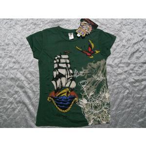 Ed Hardy(エドハーディー) 正規品★ レディース半袖Tシャツ ship rope|selectshop-blume