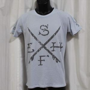 Ed Hardy(エドハーディー) 正規品★ メンズ半袖Tシャツ UR179 サーフ ブルー|selectshop-blume