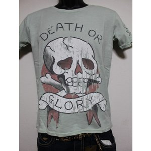 Ed Hardy(エドハーディー) 正規品★ メンズ半袖Tシャツ  M02UR019 グリーン|selectshop-blume