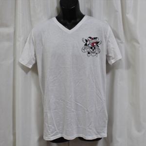 Ed Hardy(エドハーディー) 正規品★ メンズ半袖Tシャツ M02CMVUK052 Vネック ホワイト|selectshop-blume